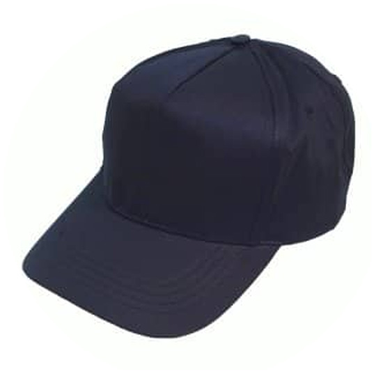 Image of a plain black Baseball Cap